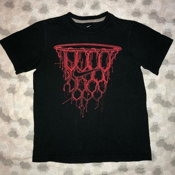 top design 100% originale outlet in vendita Nike Shirts & Tops | Basketball Hoop Tee Boys S89 | Poshmark